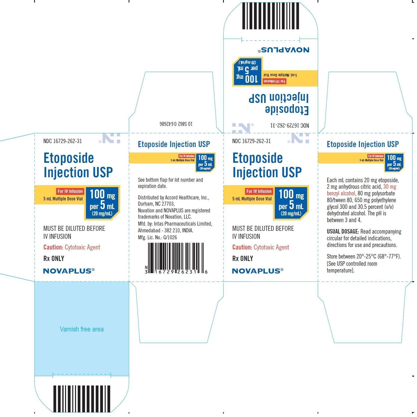 5ml carton label