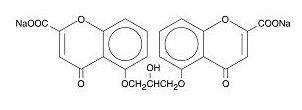 Cromolyn Sodium Structural Formula