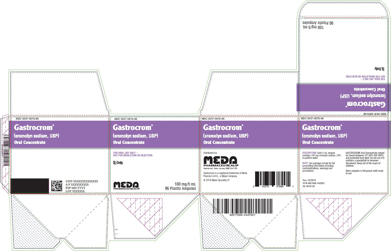 Gastrocrom Oral Concentrate Carton Label