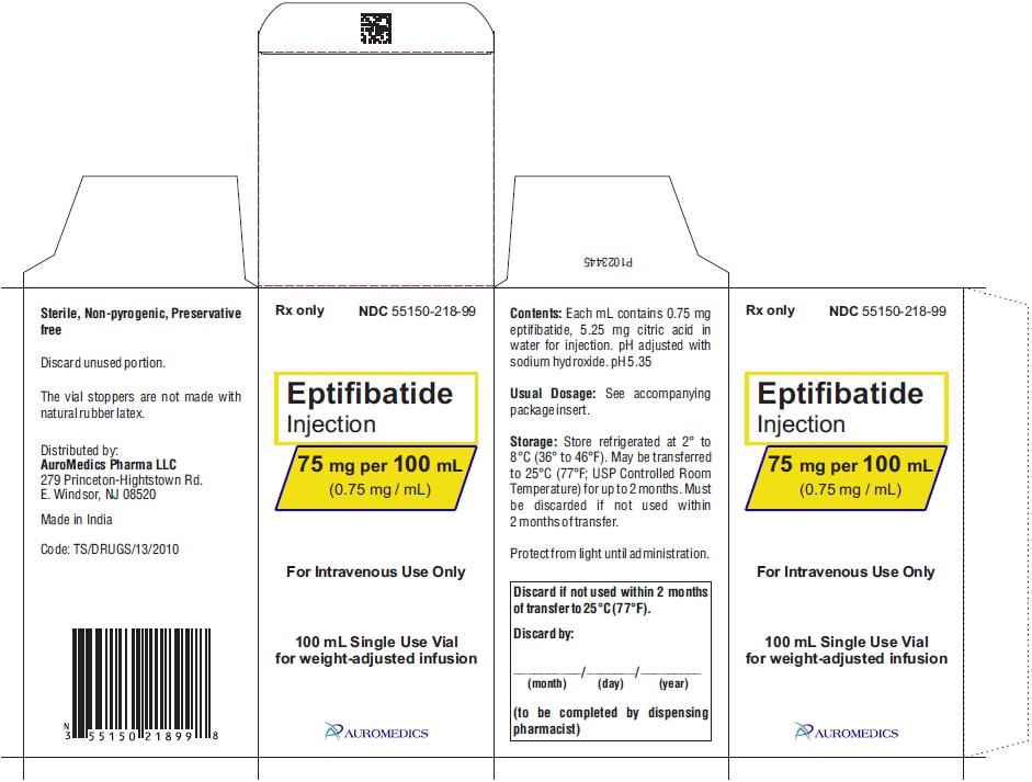PACKAGE LABEL-PRINCIPAL DISPLAY PANEL - 75 mg per 100 mL (0.75 mg / mL) - Container-Carton (1 Vial)