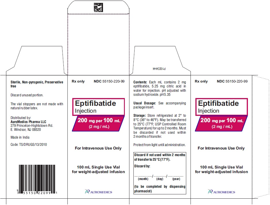 PACKAGE LABEL-PRINCIPAL DISPLAY PANEL - 200 mg per 100 mL (2 mg / mL) - Container-Carton (1 Vial)