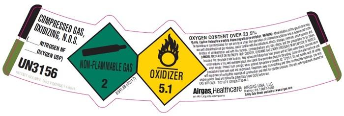 UN3156-2 label