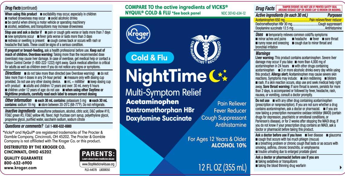 Acetaminophen 650 mg, Dextromethorphan HBr 30 mg, Doxylamine Succinate 12.5 mg