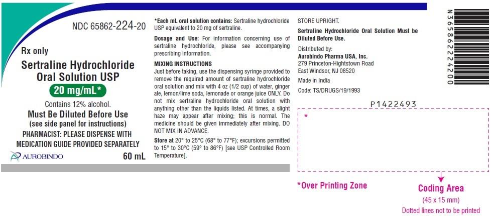 PACKAGE LABEL.PRINCIPAL DISPLAY PANEL - 20 mg/mL (60 mL Bottle)