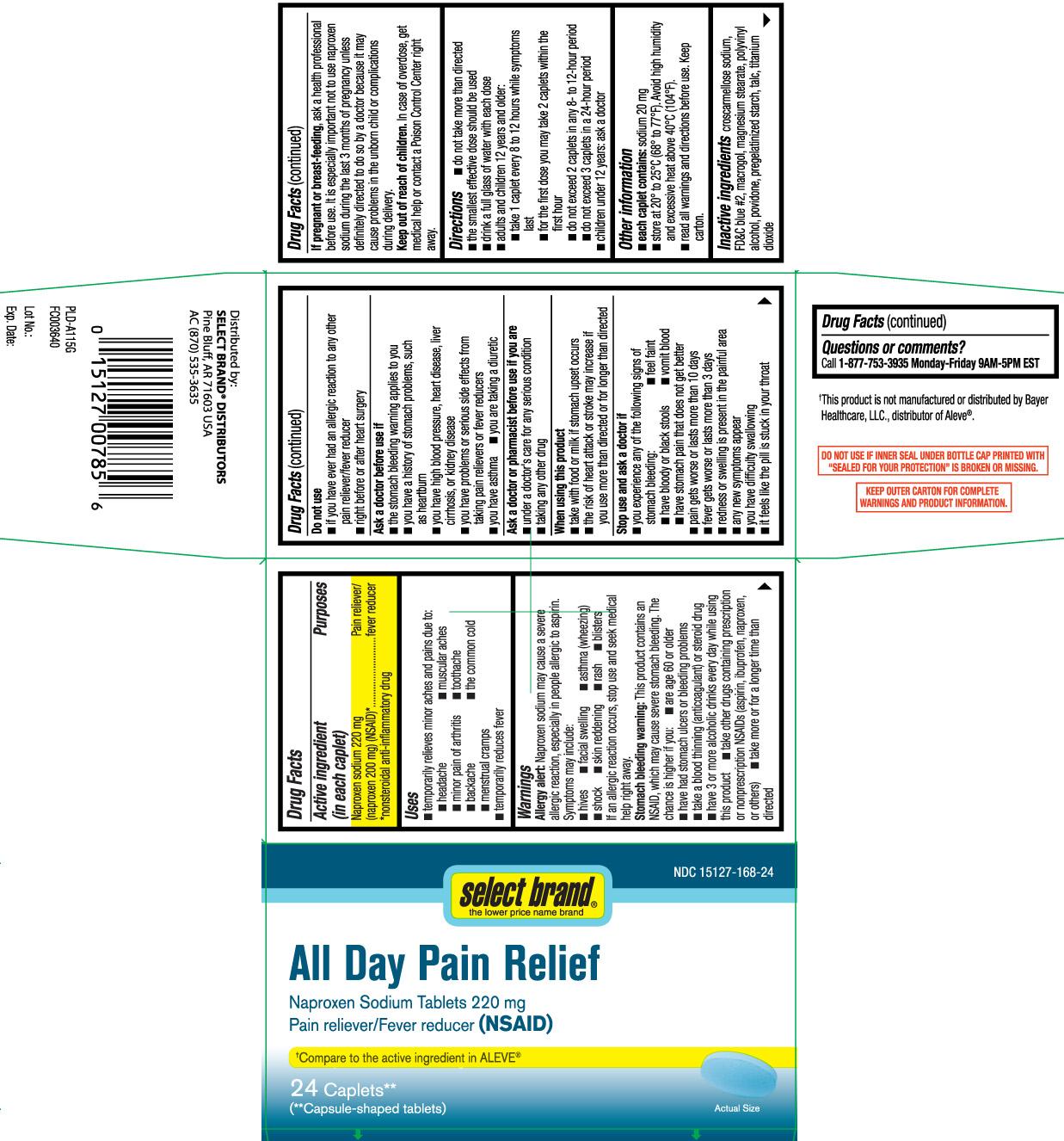 Naproxen Sodium 220 mg, (naproxen 200 mg) (NSAID)* *nonsteroidal anti-inflammatory
