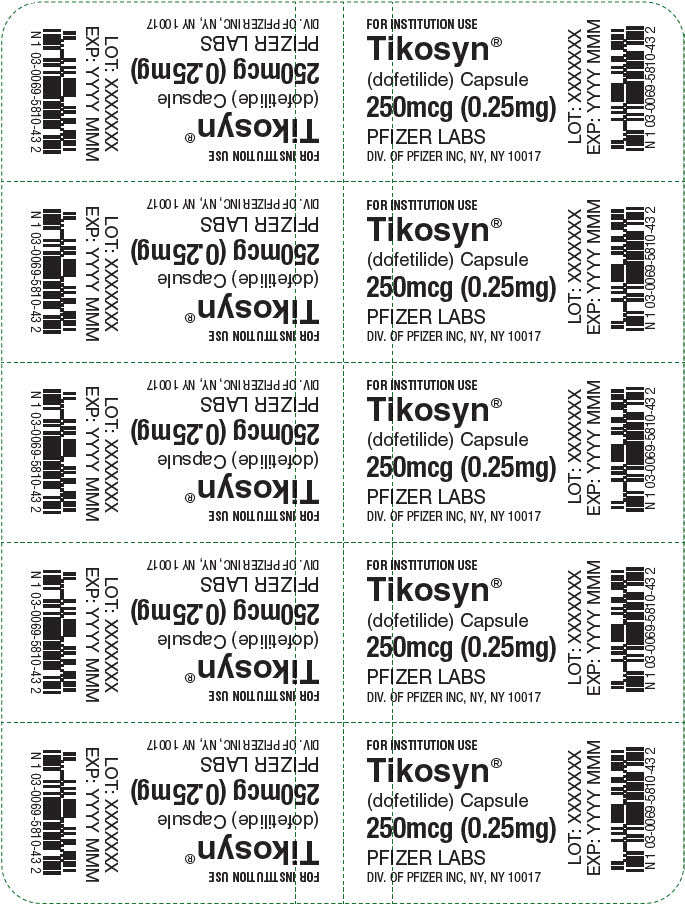 PRINCIPAL DISPLAY PANEL - 0.25 mg Capsule Blister Pack