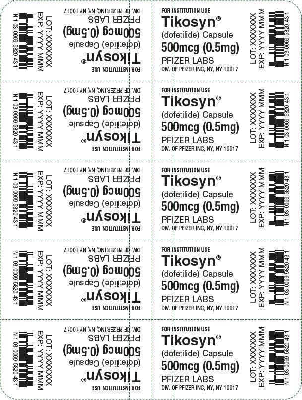 PRINCIPAL DISPLAY PANEL - 0.5 mg Capsule Blister Pack