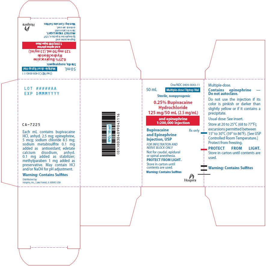 PRINCIPAL DISPLAY PANEL - 125 mg/50 mL Vial Carton