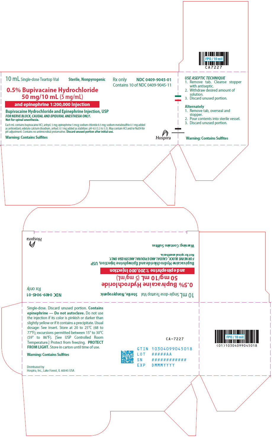PRINCIPAL DISPLAY PANEL - 50 mg/10 mL Vial Carton