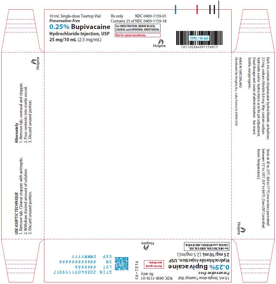 PRINCIPAL DISPLAY PANEL - 25 mg/10 mL Vial Tray
