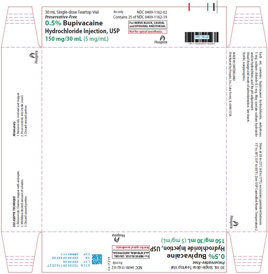 PRINCIPAL DISPLAY PANEL - 150 mg/30 mL Vial Tray - 1162