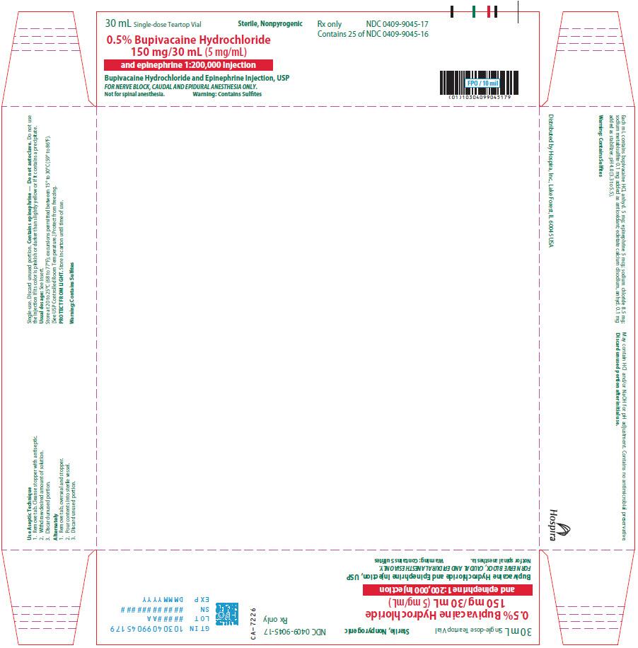 PRINCIPAL DISPLAY PANEL - 150 mg/30 mL Vial Tray - 9045