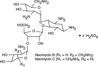 Neomycin Sulfate Structural Formula