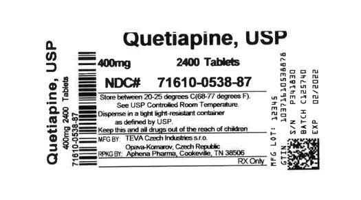 Bottle Label 400 mg