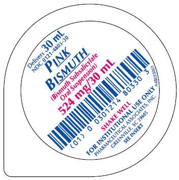 Principal Display Panel - Unit Dose Cup Label