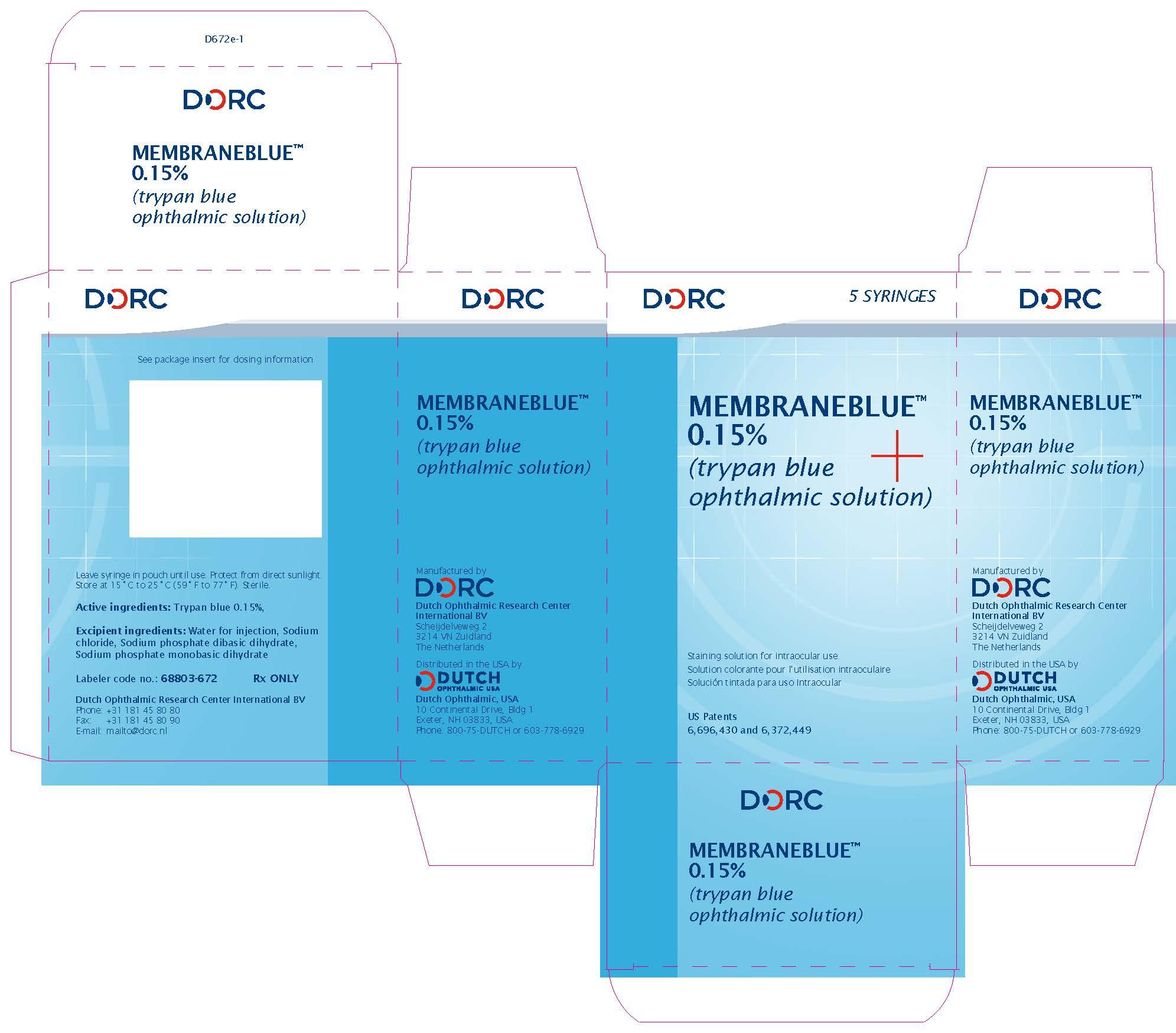 MembraneBlue - Box