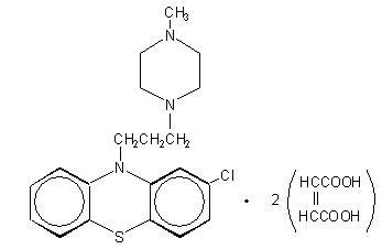 Prochlorperazine Structural Formula