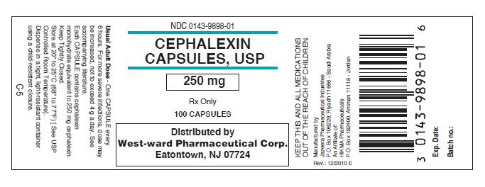 Cephalexin Capsule-250mg-100Caps