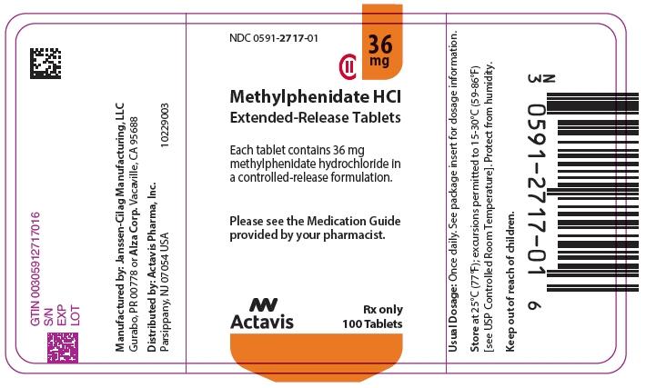 PRINCIPAL DISPLAY PANEL - 36 mg Tablet Bottle Label