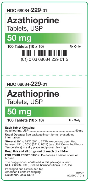 50 mg Azathioprine Tablets Carton