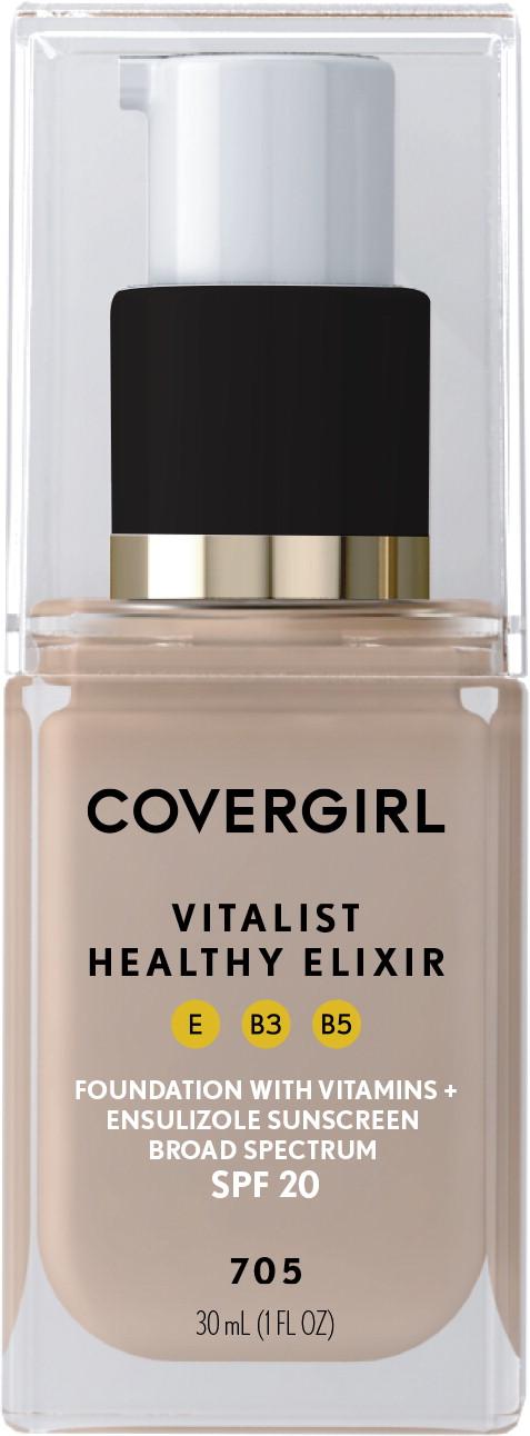 Principal Display Panel - Covergirl Vitalist Healthy Elixir Label