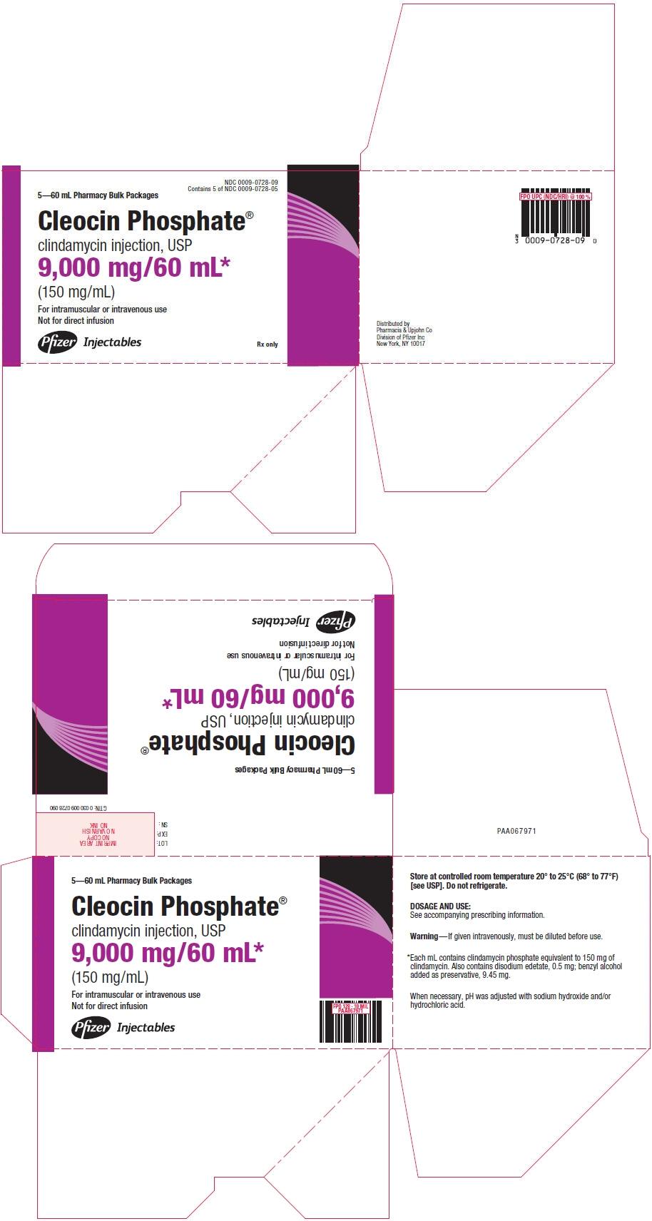 PRINCIPAL DISPLAY PANEL - 9,000 mg/60 mL Vial Bulk Carton