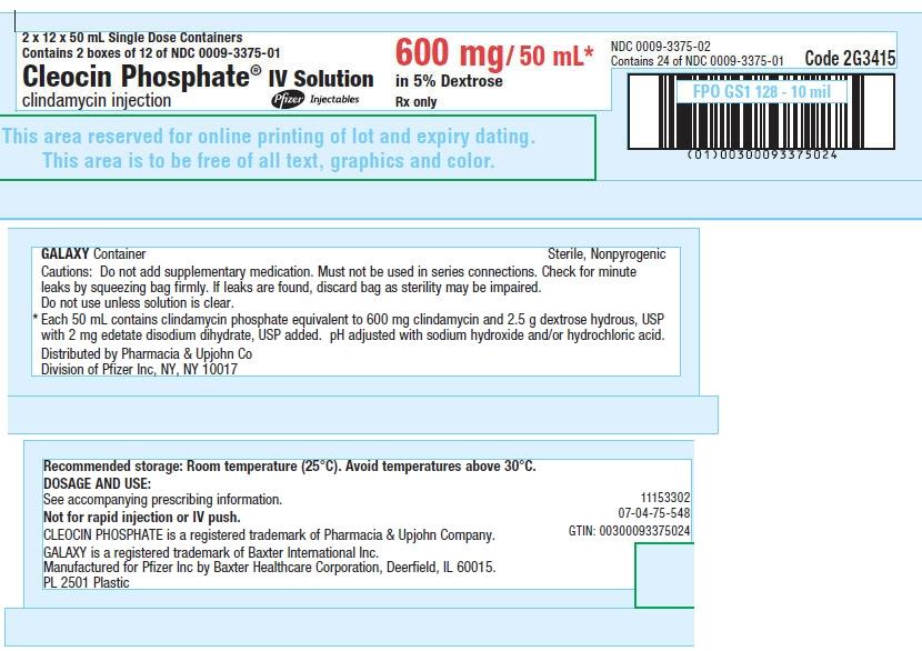 PRINCIPAL DISPLAY PANEL - 600 mg/ 50 mL Container Carton