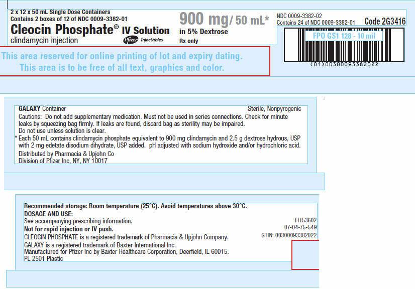 PRINCIPAL DISPLAY PANEL - 900 mg/ 50 mL Container Carton