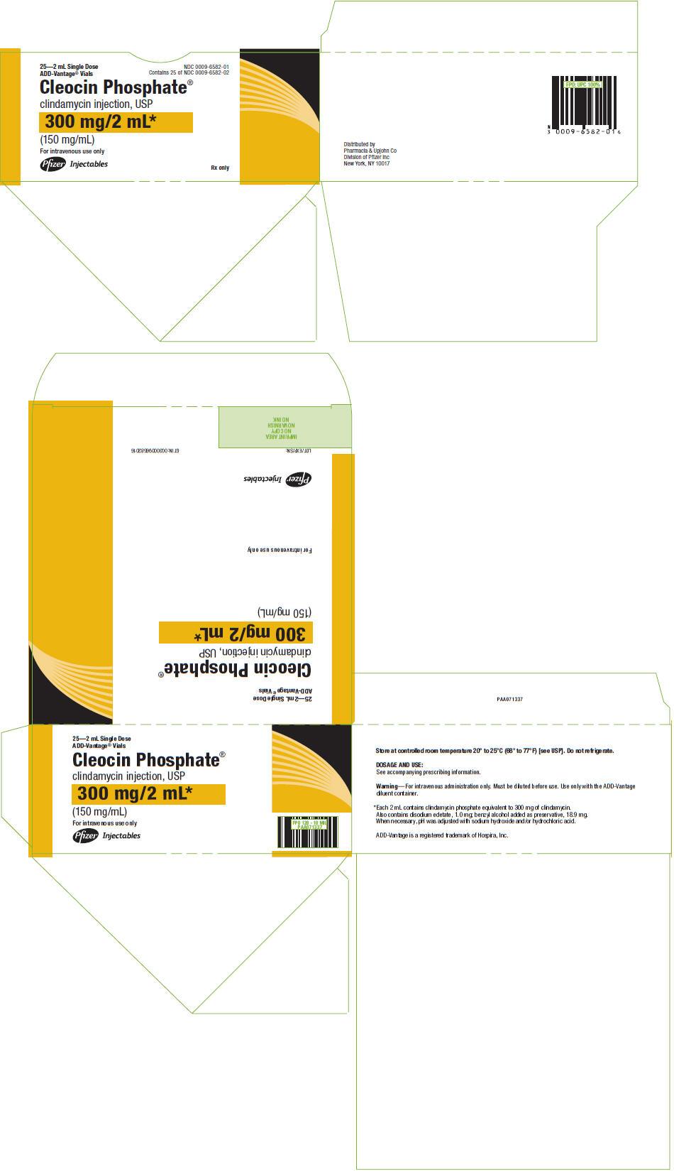 PRINCIPAL DISPLAY PANEL - 300 mg/2 mL ADD-Vantage Vial Carton