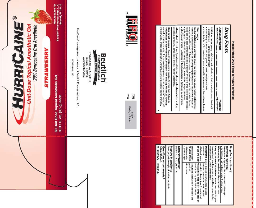60ct box unit dose gel Strawberry