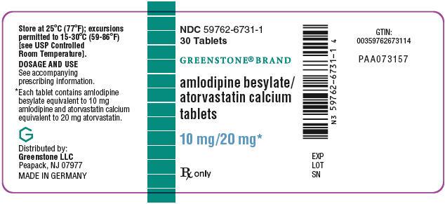 PRINCIPAL DISPLAY PANEL - 10 mg/20 mg Tablet Bottle Label