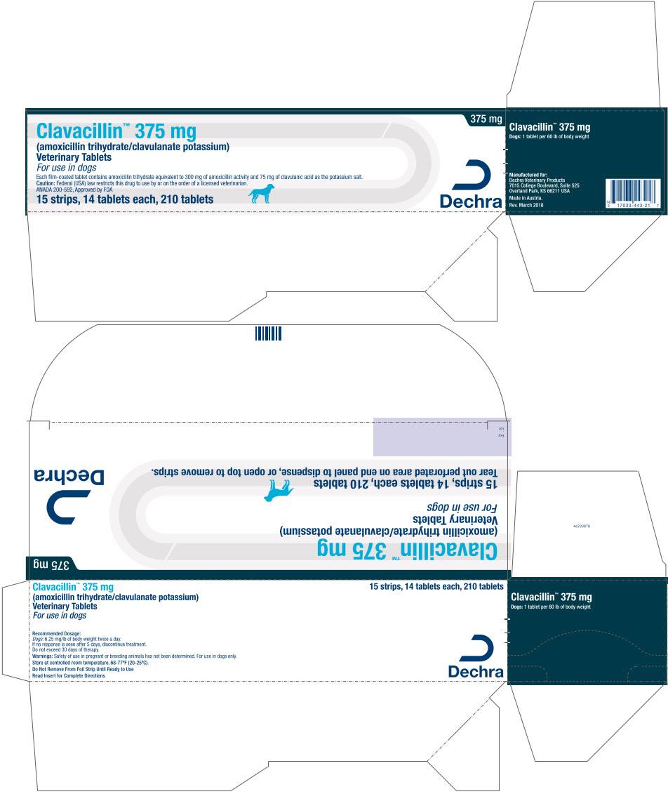 PRINCIPAL DISPLAY PANEL - 375 mg Tablet Blister Pack Carton