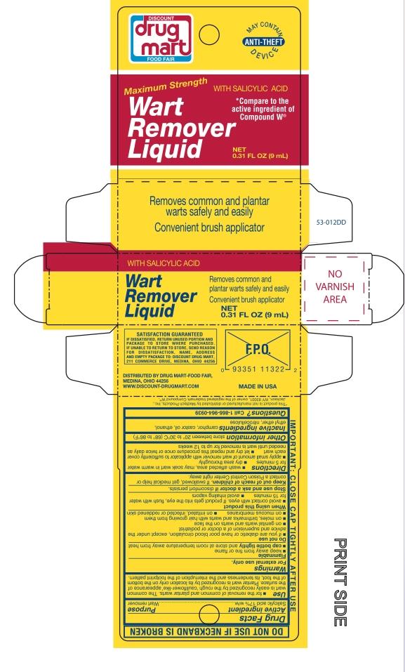 Discount Drug Mart Liquid Wart Remover