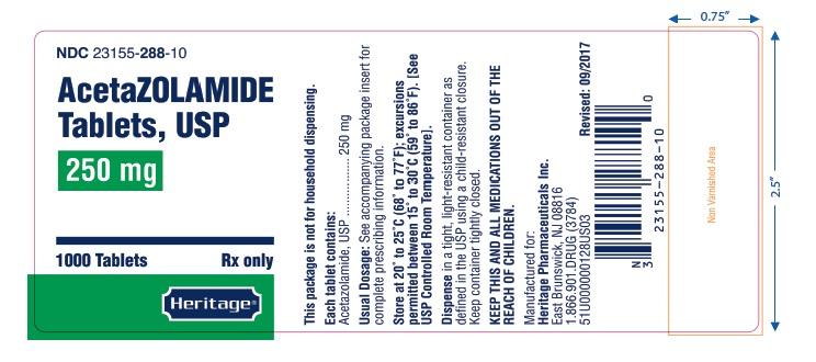 label 250 mg 1000 tablets