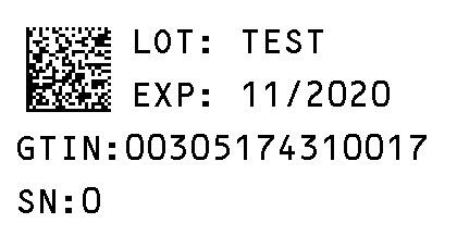 Serialization Label