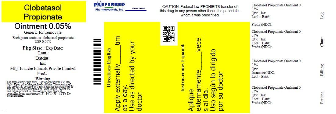 Clobetasol Propionate Ointment 0.05%