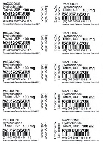 100 mg traZODONE HCl Tablet Blister