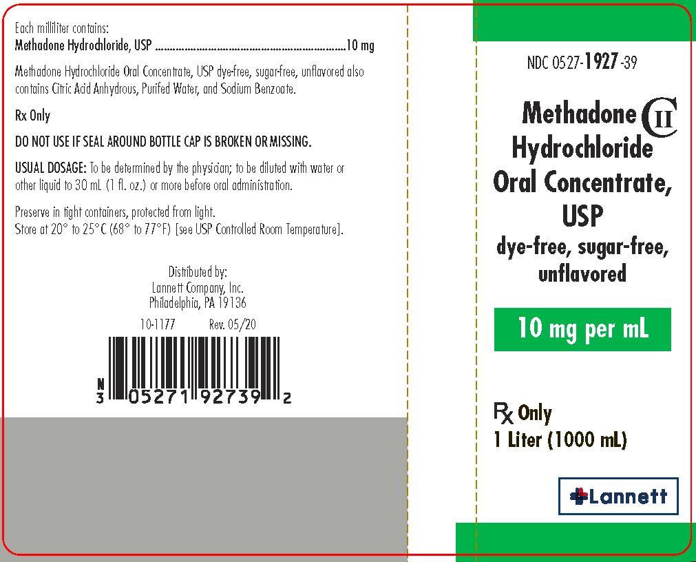 1 Liter Label