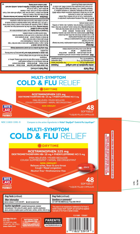 Acetaminophen 325 mg, Dextromethorphan HBr 10 mg, Phenylephrine HCl 5 mg
