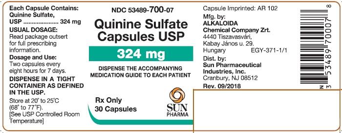Quinine Sulfate Caps - Alkaloida