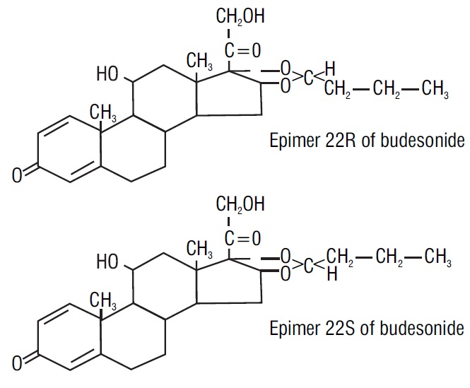 spl-budesonide-chemical-structure