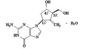 Entecavir Chemical Structure