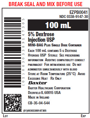 Representative Container label 0338-9147-30