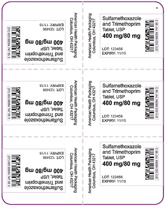400 mg-80 mg Sulfamethoxazole-Trimethoprim Tablet Blister