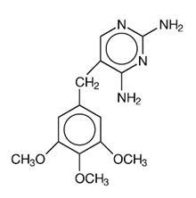 Trimethoprim Structural formula
