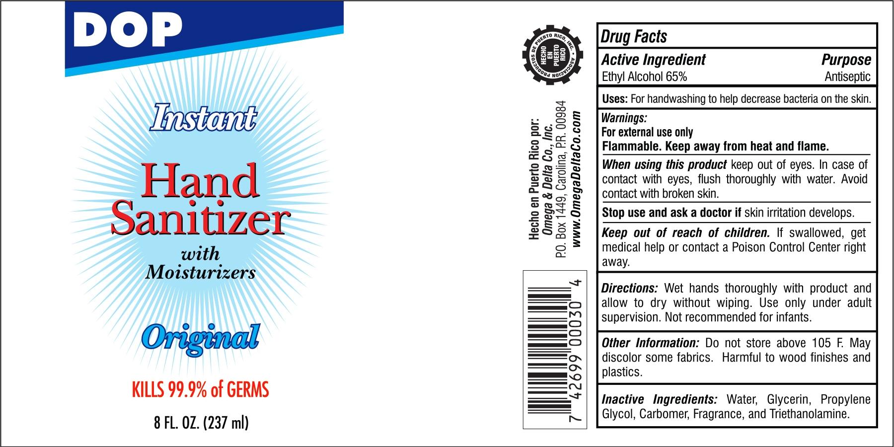 DOP Hand Sanitizer