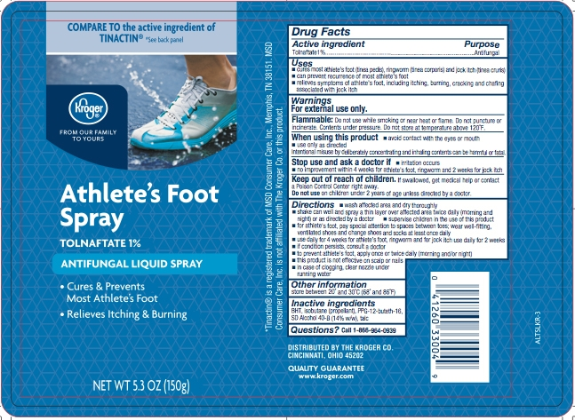 Kroger_Antifungal Tolnaftate Athletes Foot Liquid Spray_ALTSLKR-3