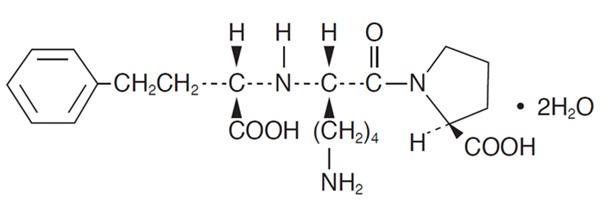 structure-lisinopril