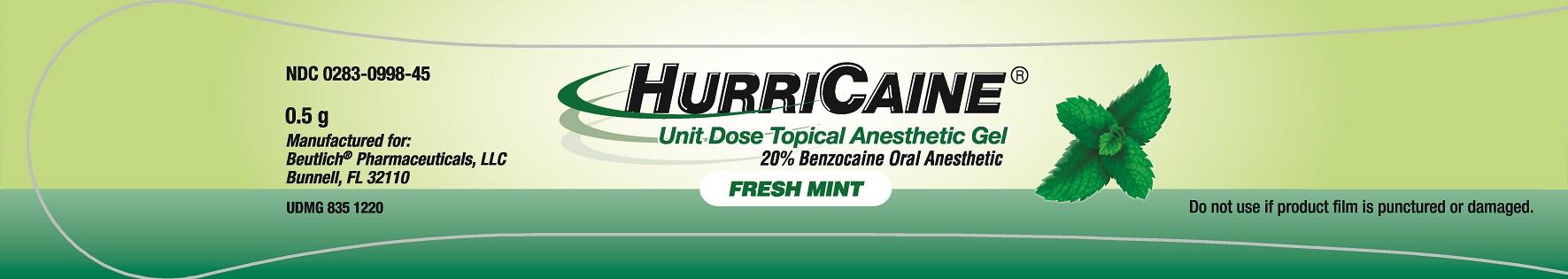 Unit Dose Gel - Mint - 0.5g