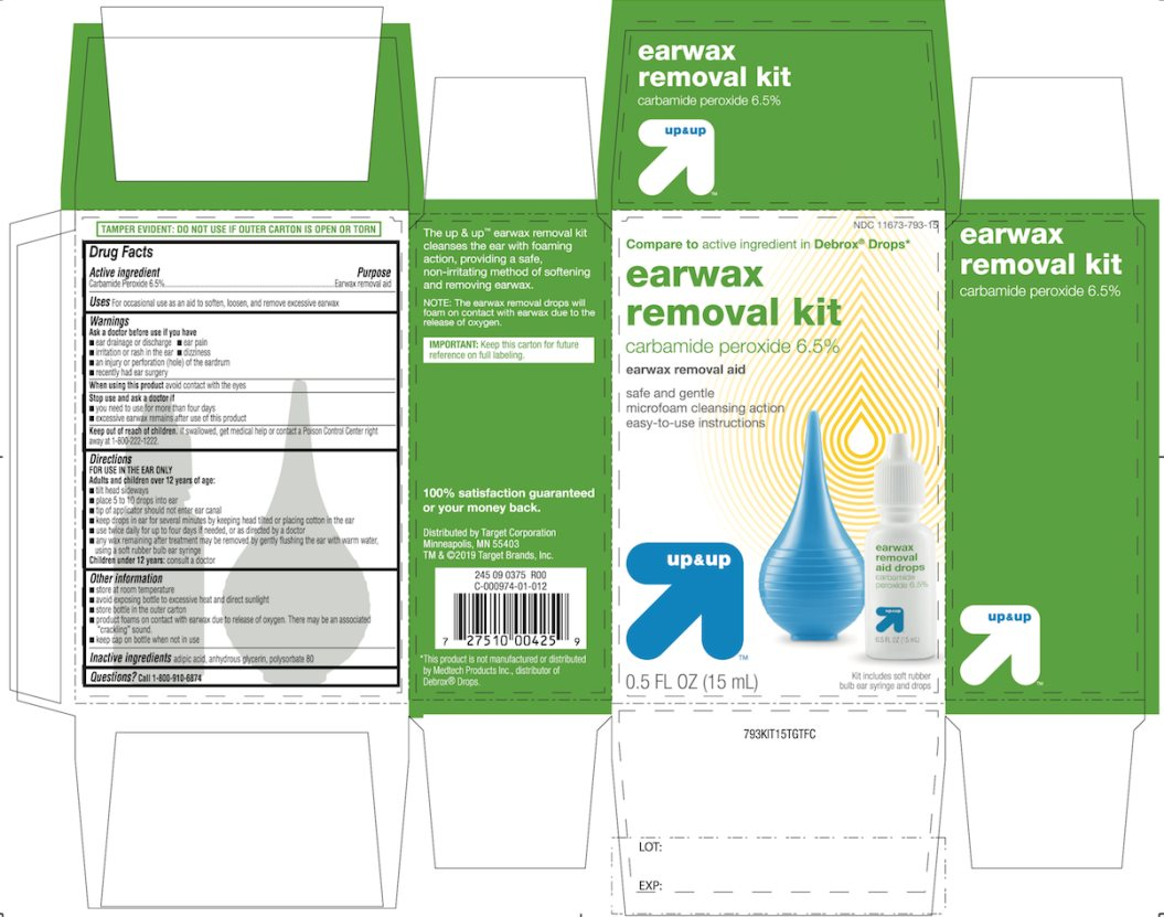 Target Ear Wax Removal Aid Drops Carbamide Peroxide
